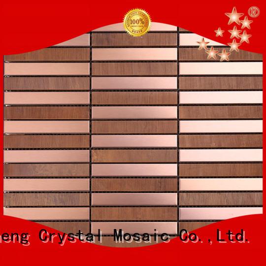 Heng Xing hexagon glass mosaic directly sale for backsplash