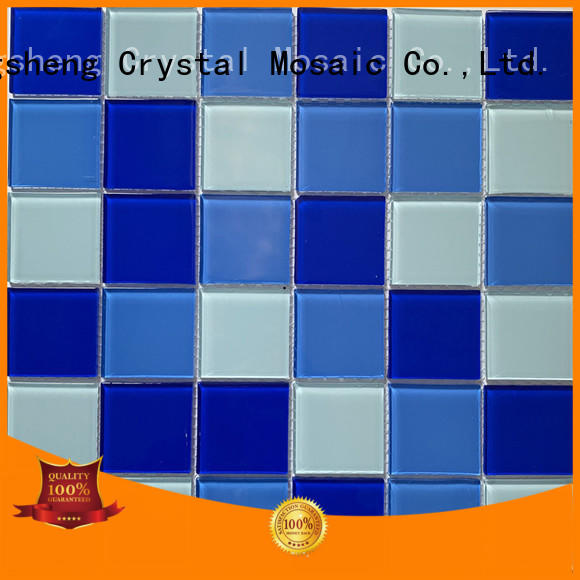 New crystal glass grout floor manufacturers for bathroom
