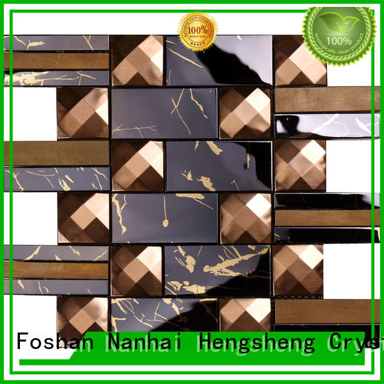 3x6 copper tile stainless customized for living room