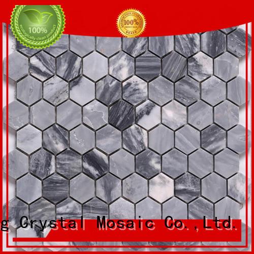 New carrara mosaic tile lantern factory for backsplash