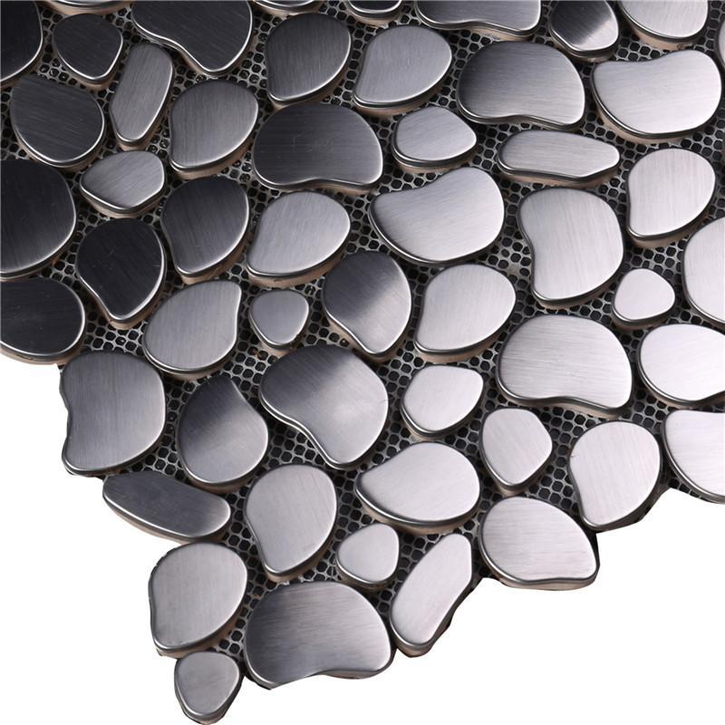 practical glass mosaic new designs metal company for bathroom-3