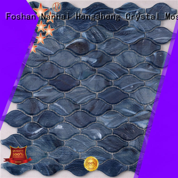 Heng Xing luxury grey mosaic tiles personalized for fountain