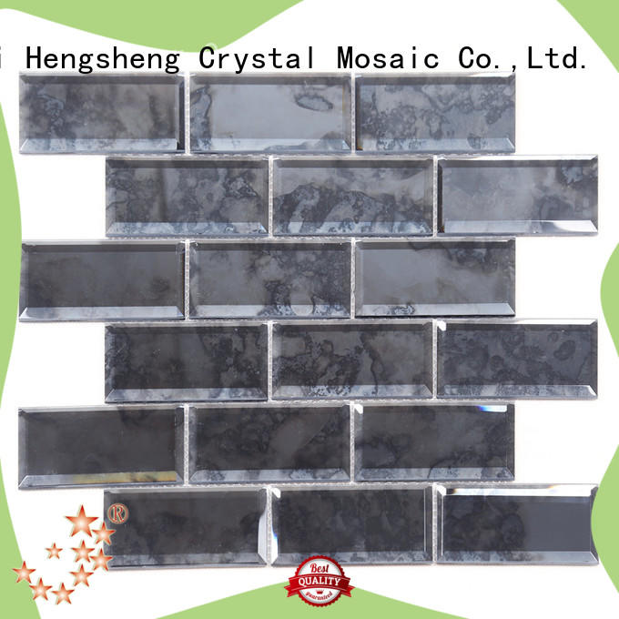 Heng Xing sand travertine mosaic tiles Supply for bathroom