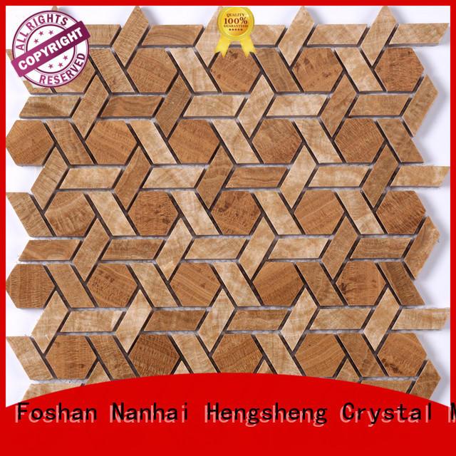 Heng Xing 2x2 marble backsplash company for kitchen