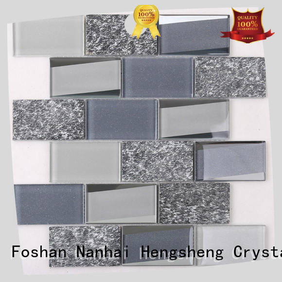 Heng Xing Best blue mosaic tile for business for hotel