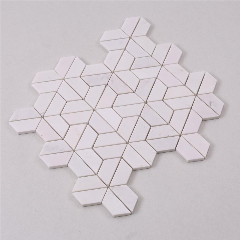 Heng Xing beautiful marble mosaic company for bathroom-2