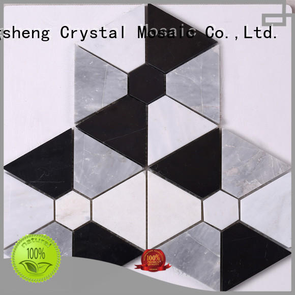 Heng Xing hexagon mosaic tile company Supply for hotel