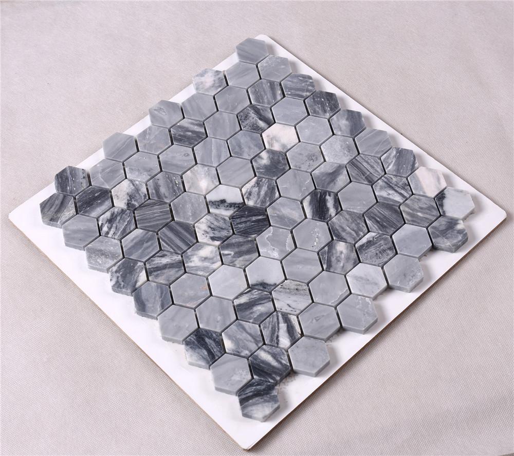 New carrara mosaic tile lantern factory for backsplash-2