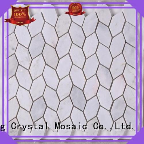 Heng Xing High-quality glass stone mosaic with good price for kitchen