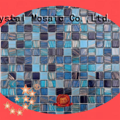 Heng Xing blue mosaic tile sheets manufacturers for bathroom