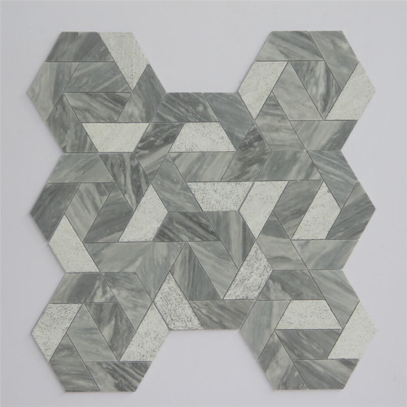 2x2 slate mosaic tile floor Suppliers for living room-3