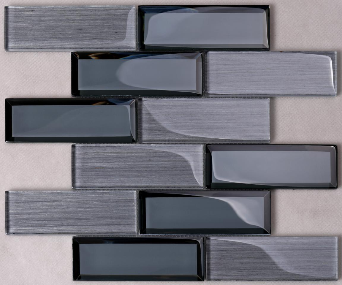 Heng Xing mix green glass tile company for kitchen-1