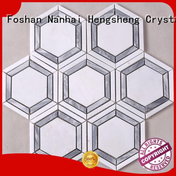 Heng Xing hot selling tiendas de mosaic glass en eeuu directly sale for kitchen
