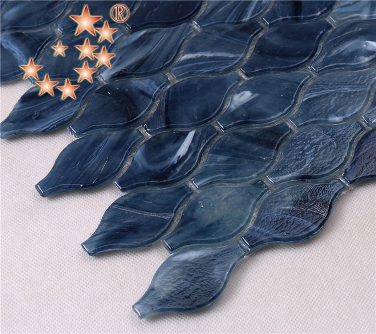 ceramic herringbone glass tile waterline supplier for bathroom-3