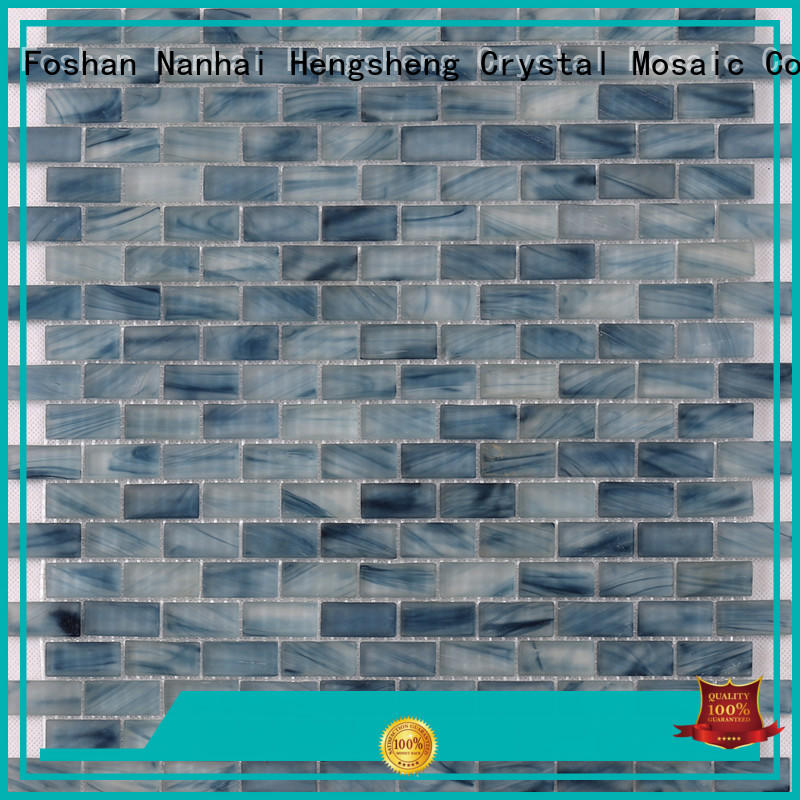 Heng Xing 4csb33 swimming pool tile pictures for business for fountain