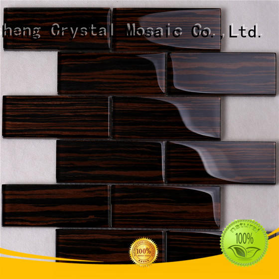square glass metal tile metal factory price for hotel
