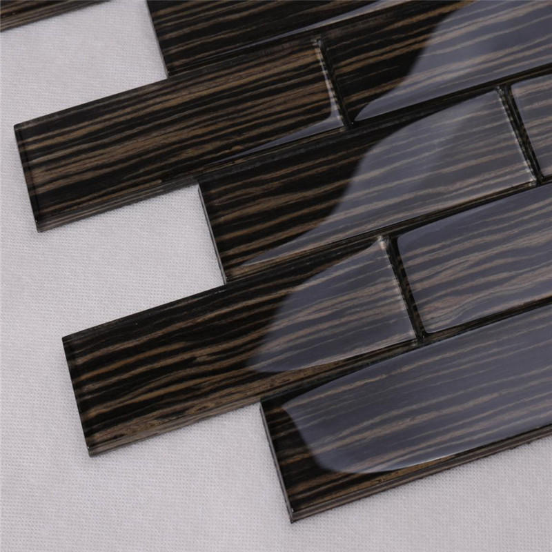 Heng Xing sand linear mosaic tile personalized for villa-3