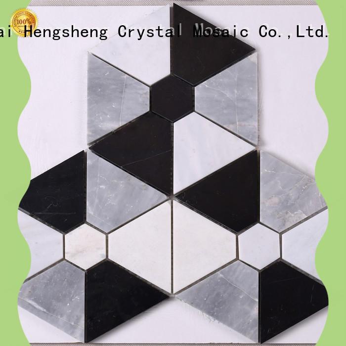 Heng Xing hexagon stone backsplash Suppliers for bathroom