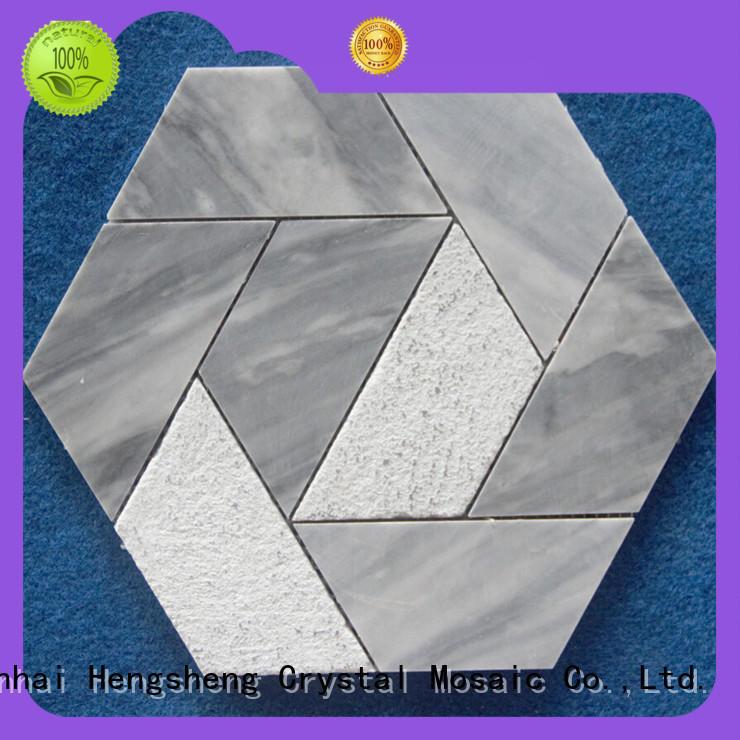 Heng Xing Top brick mosaic tile Suppliers for backsplash