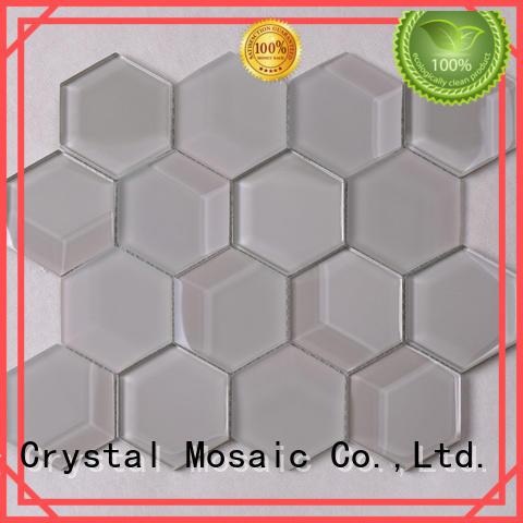 Heng Xing tans white glass metal backsplash supplier for kitchen