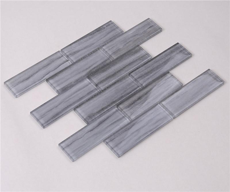 Heng Xing strip chevron tile backsplash company for bathroom-3