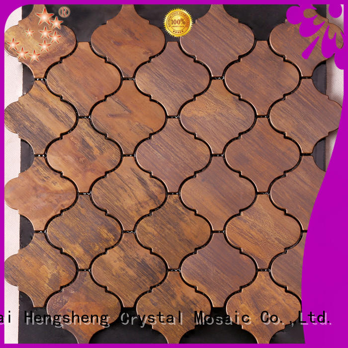 Heng Xing Wholesale blue mosaic tile Suppliers for hotel