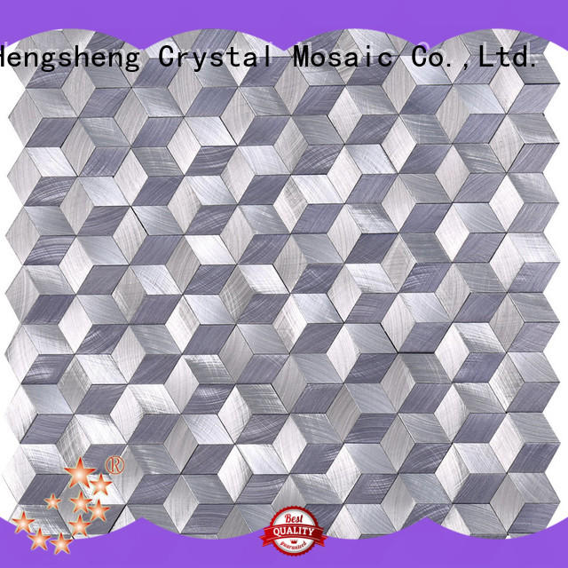 Heng Xing sturdy aluminum mosaic tile from China for villa