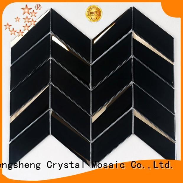 Heng Xing black black ceramic floor tile manufacturers