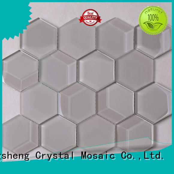 Latest white glass tile aluminum wholesale for living room