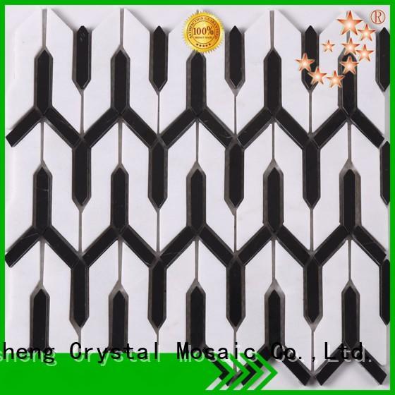 Heng Xing hot selling glass mosaic Supply for backsplash