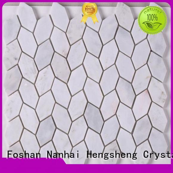 Latest grey mosaic tiles mosaic factory for hotel