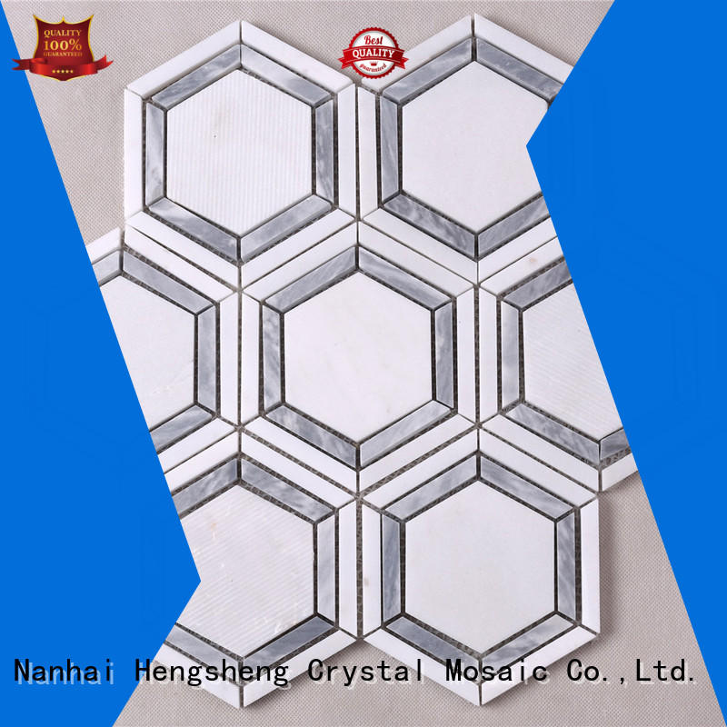 reliable crystal glass mosaic tiles suppliers white series for villa