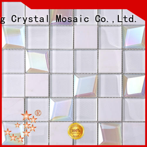 Heng Xing wall 12x12 glass tile Supply for kitchen
