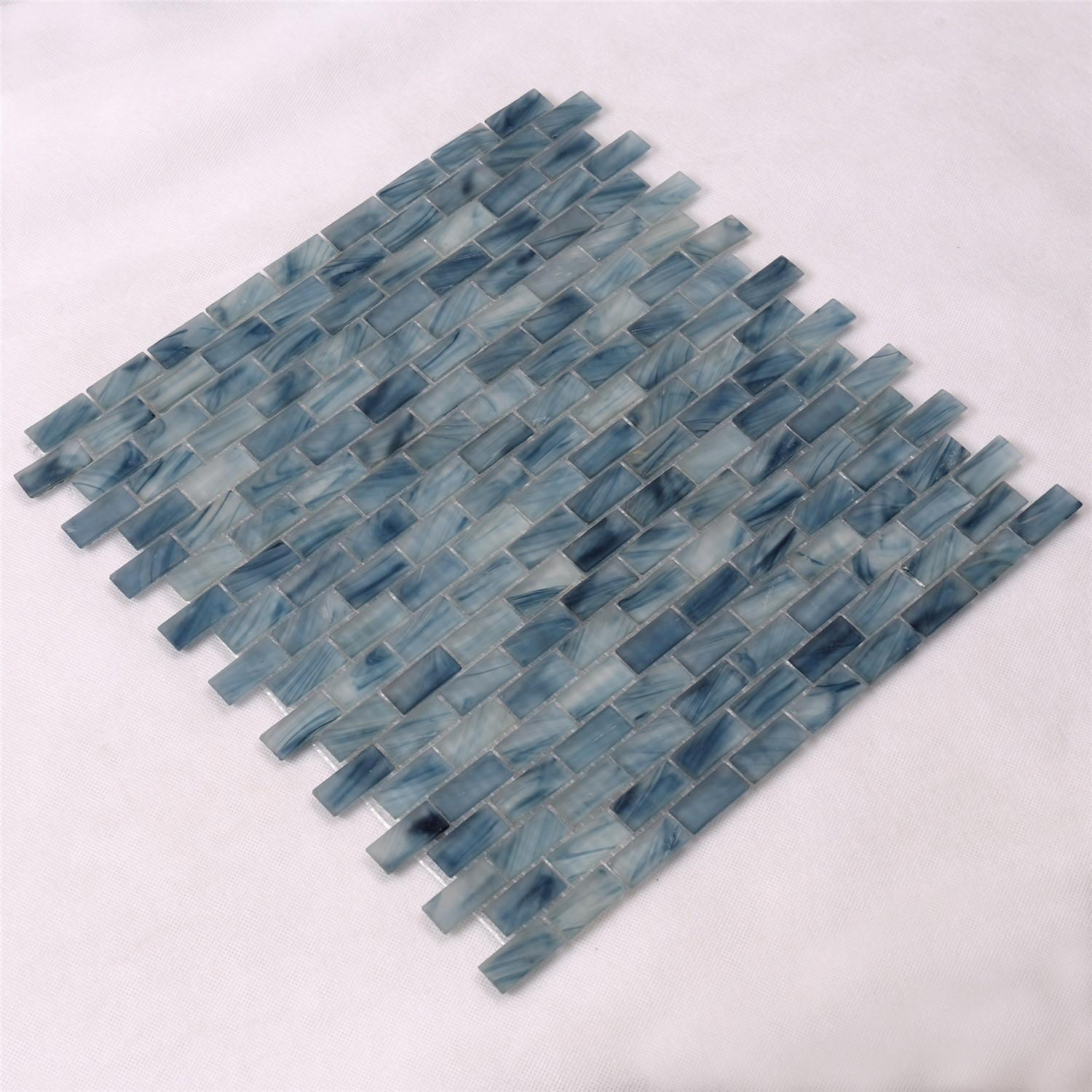 High-quality mosaic tiles online glass wholesale for swimming pool-2