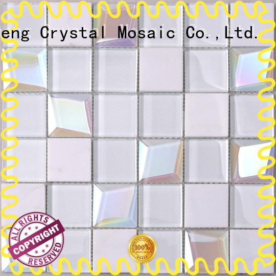 beveled mosaic glass blast company for kitchen