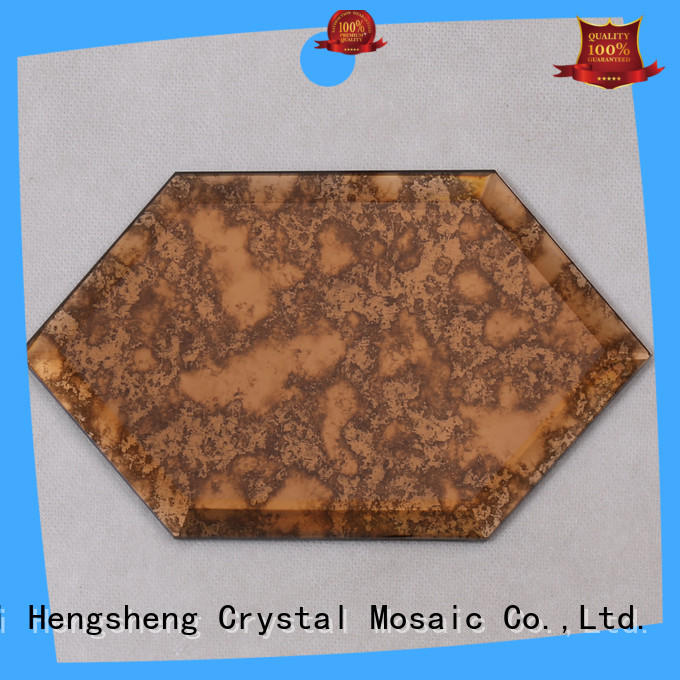 3x3 green glass tile crystal factory price for bathroom