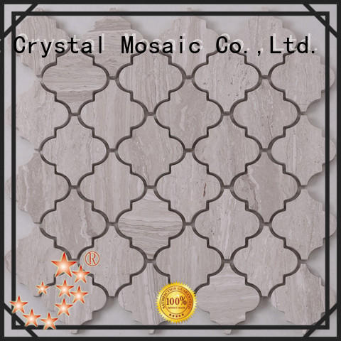 Heng Xing Carrara gray mosaic tile backsplash with good price for bathroom