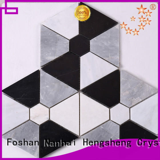 Heng Xing Best blue mosaic tile manufacturers for bathroom