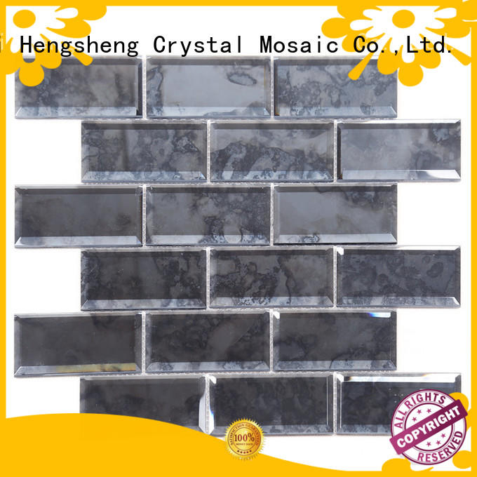 durable bisazza glass mosaic tiles stone factory for living room