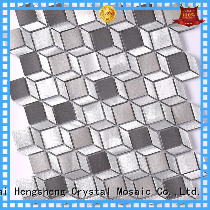Latest linear mosaic tile stainless Supply for villa