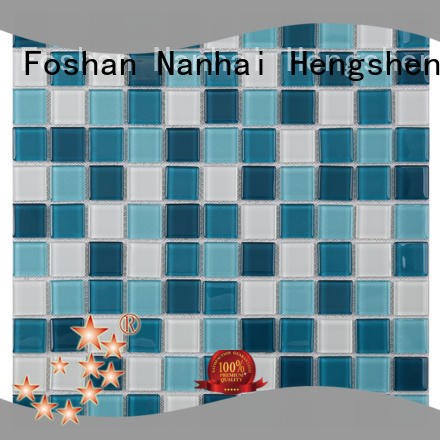 Heng Xing luxury pool glass tile wholesale for fountain