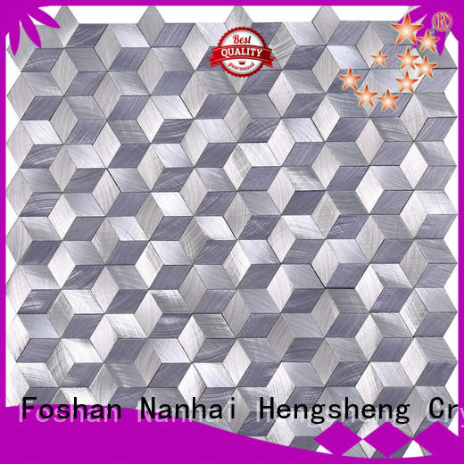 Heng Xing quality beige mosaic tiles Supply for restuarant