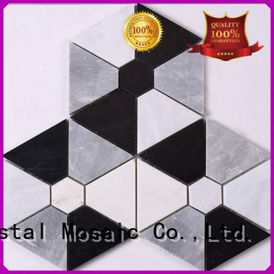 Heng Xing metal natural stone mosaic design for villa