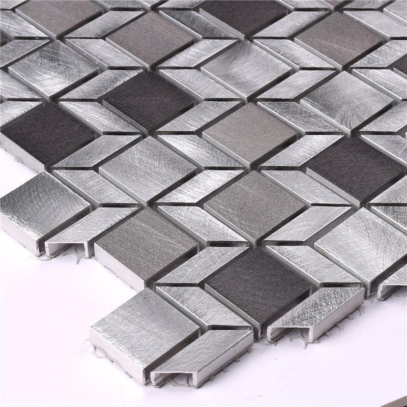 New linear mosaic tile aluminum directly sale for villa-3