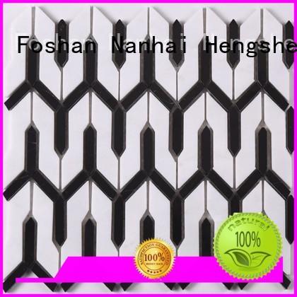 Heng Xing mosaic mosaic glass tiles factory for hotel