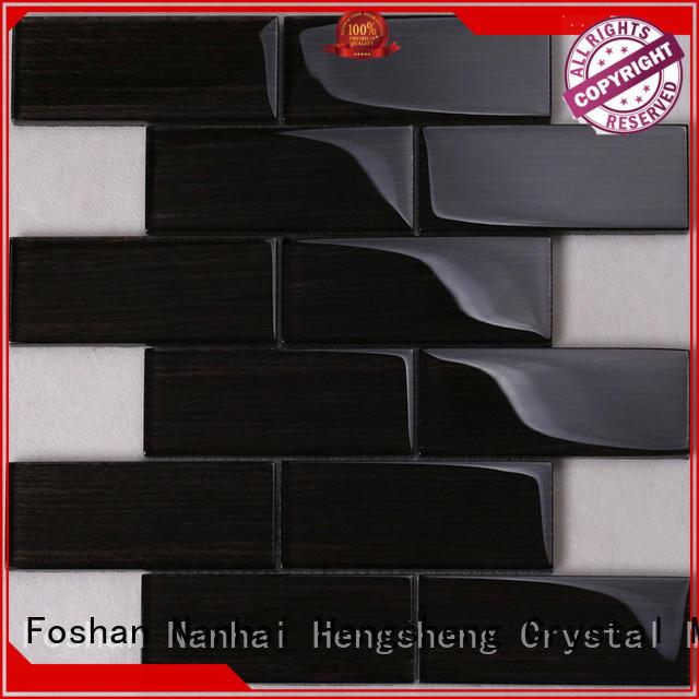 Heng Xing interlock mosaic wall tiles manufacturers for living room