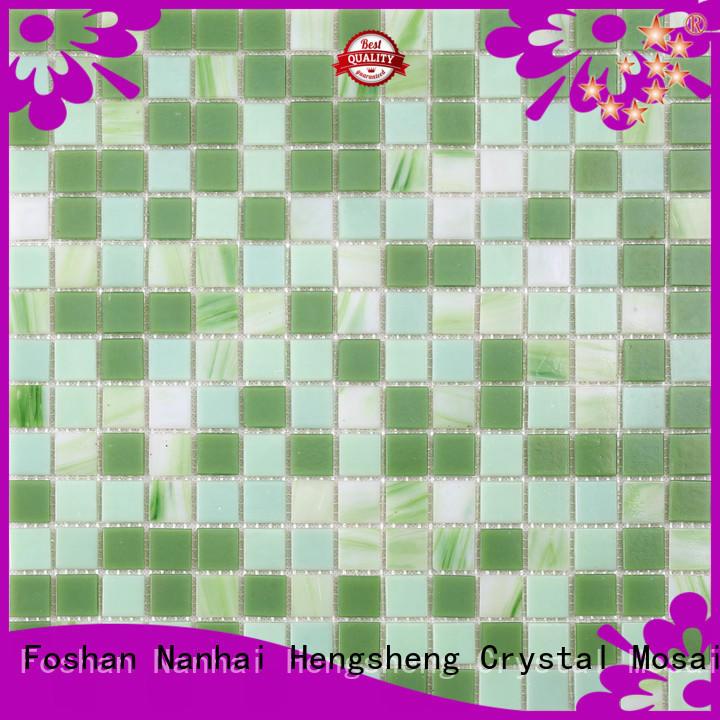 ceramic mosaic tile company blue for business for bathroom