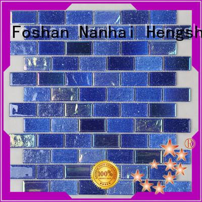 Heng Xing light mosaic pool tiles company for bathroom
