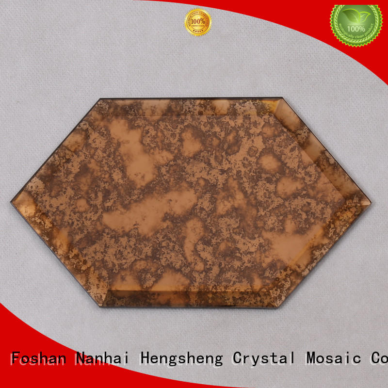 Heng Xing square marble and glass tile Suppliers for villa