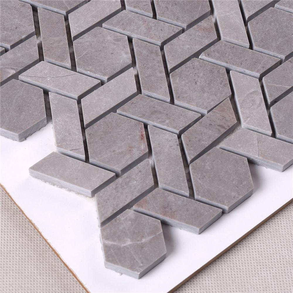 High-quality porcelain mosaic tile Carrara company for backsplash-3